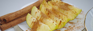 Bild von Apfel mit Zimt