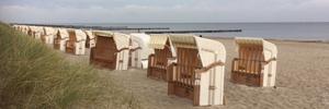 Bild von Strandkörbe am Strand in Kühlungsborn