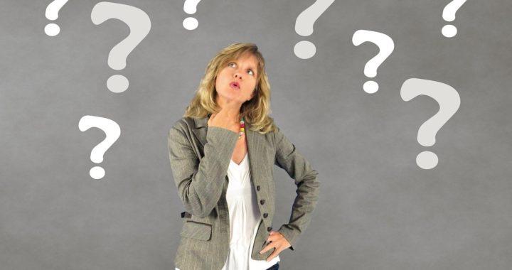 Abnehmen-Luebeck-Frau mit Fragezeichen