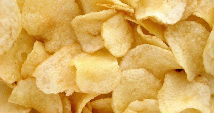 Bild von Kartoffelchips