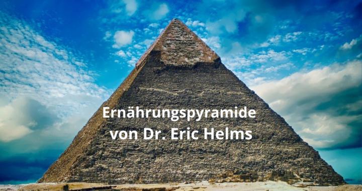 Ernährungspyramide von Dr. Eric Helms